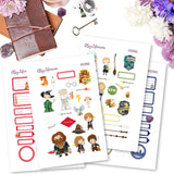 Harry Potter Planner Stickers Digital Downloads Printable The Happy Planner