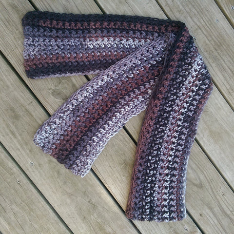 Traditional Scarf in Earthtones