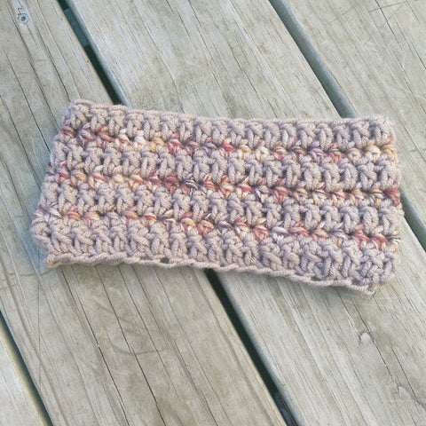 Ear Warmer in Pumpkin Spice