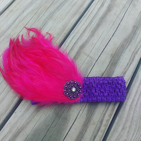 Infant Toddler Feather Headband - #QtsyLife  Fashion and Planner Accessories - QtsyLife.com