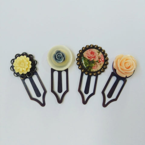 Handmade paper clips, can be used as planner clips, bookmarks, teacher gifts by QtsyLife.com