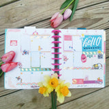 Made in the 80's Printable Planner Stickers