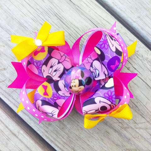 Minnie Mouse Hair Bow Gift Set - #QtsyLife  Fashion and Planner Accessories - QtsyLife.com