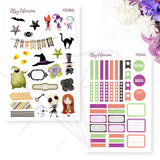 Nightmare Before Christmas Printable Planner Sticker Digital Downloads