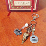 Off With Her Head Red Queen Key Chain - #QtsyLife  Fashion and Planner Accessories - QtsyLife.com