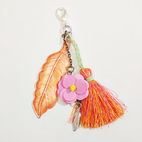 Summer Sorbet Planner, Purse, or Key Chain Charm - #QtsyLife  Fashion and Planner Accessories - QtsyLife.com