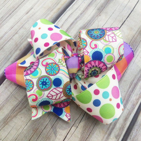 Party Hair Bow - #QtsyLife  Fashion and Planner Accessories - QtsyLife.com