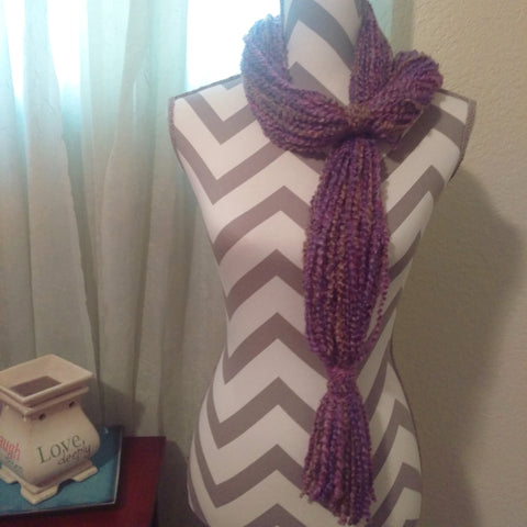 Rapunzel Scarf Plum - #QtsyLife  Fashion and Planner Accessories - QtsyLife.com