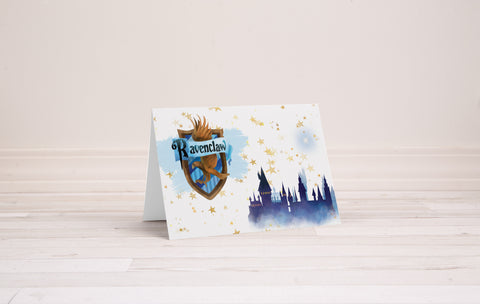 Harry Potter House Collection Greeting Card Set - Printable Download