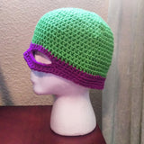 Teenage Mutant Ninja Turtle Mask Hat - (Custom Order) - #QtsyLife  Fashion and Planner Accessories - QtsyLife.com