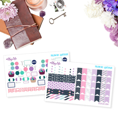 printable planner stickers crochet knitting yarn arts yar love