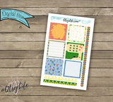 Zelda Printable Planner Stickers - The BIG Happy Planner