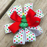 Christmas Tree Holiday Hair Bow Gift Set - #QtsyLife  Fashion and Planner Accessories - QtsyLife.com