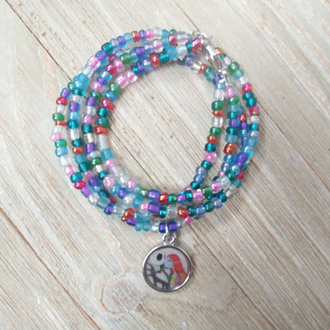 Jack and Sally Wrap Bracelet
