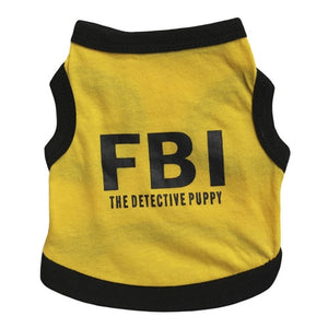 FBI Printed Frenchy Costume