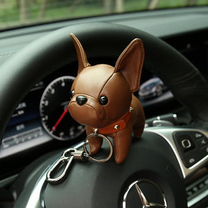 Frenchie Bulldog Keychain