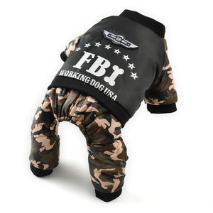 Cool FBI Dog Costume