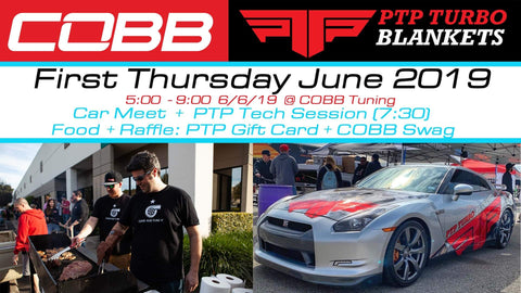 COBB X PTP Turbo Blankets First Thursday