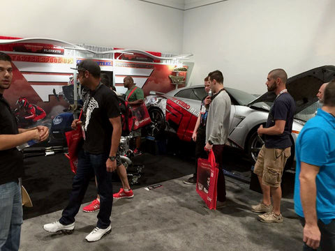 PTP Turbo Blankets Booth, Central Hall, SEMA Show 2014