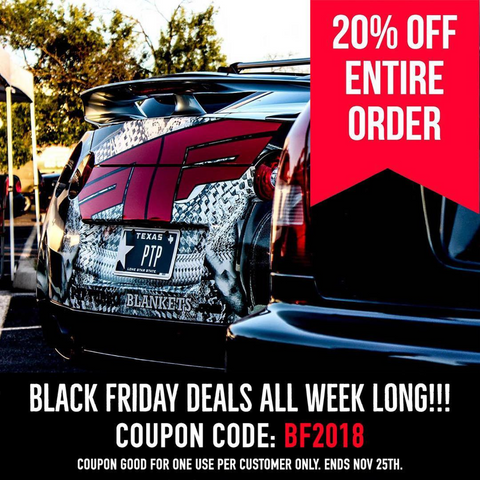 PTP Turbo Blankets Black Friday Sale