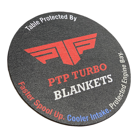 PTP Turbo Blankets Coaster