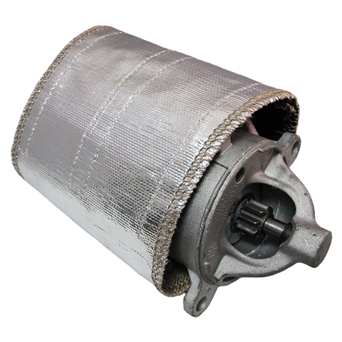 Silver Starter Heat Shield