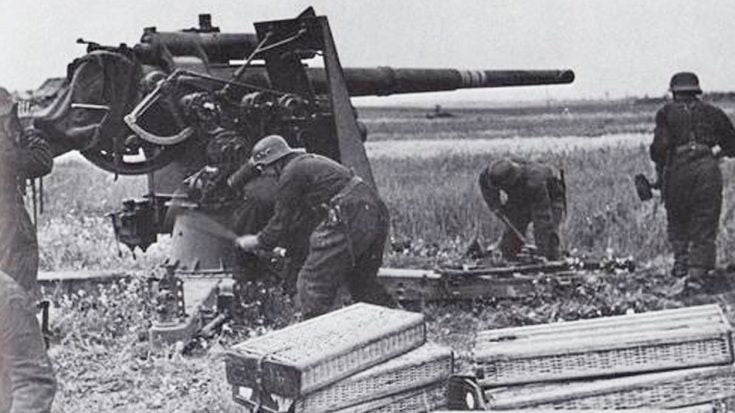 Overpowered 88mm Flak Artillery Blasting Tanks - They Never Stood A Chance   Frontline Videos