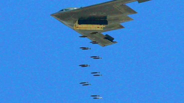 Bombs Songs | B-2 Spirit Unleashes Its Entire Payload – They Just Keep Going And Going | Frontline Videos