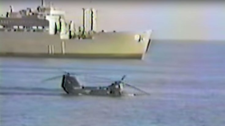 CH-46 Engine Gives Out – The Helo Didn't Float Like It Should | Frontline Videos