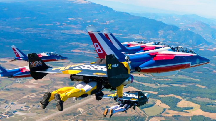 Jets Songs | Jetpack Daredevils Race With The French Air Force | Frontline Videos