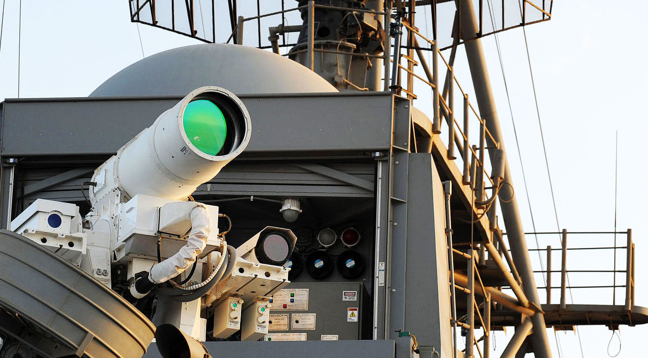 Weapons Songs | News | Navy's New 186K Mps Laser Can Shoot Down Targets For A Buck | Frontline Videos