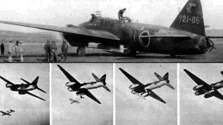 Wwii Songs   Deadly Japanese Suicide Rocket Unleashed – Watch The Pilot Become A Human Bomb   Frontline Videos