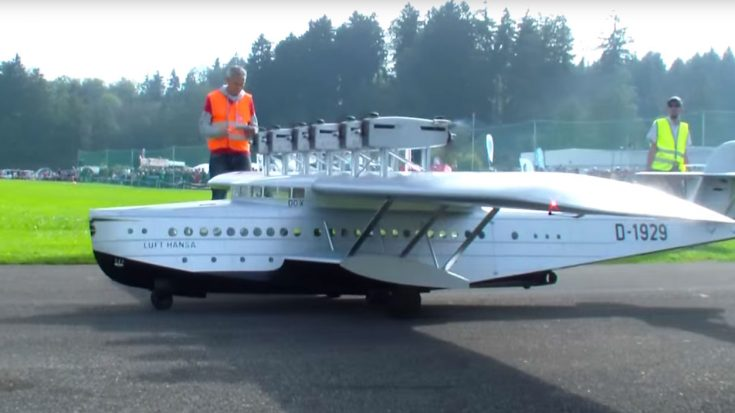 Enormous RC Dornier Do X With 6 Engines Tears Through The Skies | Frontline Videos