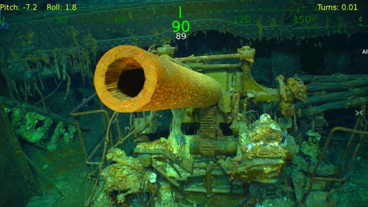 Wreckage Of Carrier Lost For 76 Years Finally Discovered – See The First Images   Frontline Videos