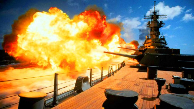 Test fire Songs | USS Missouri In Desert Storm – The Legendary Battleship Fires In Anger For The First Time In 40 Years | Frontline Videos