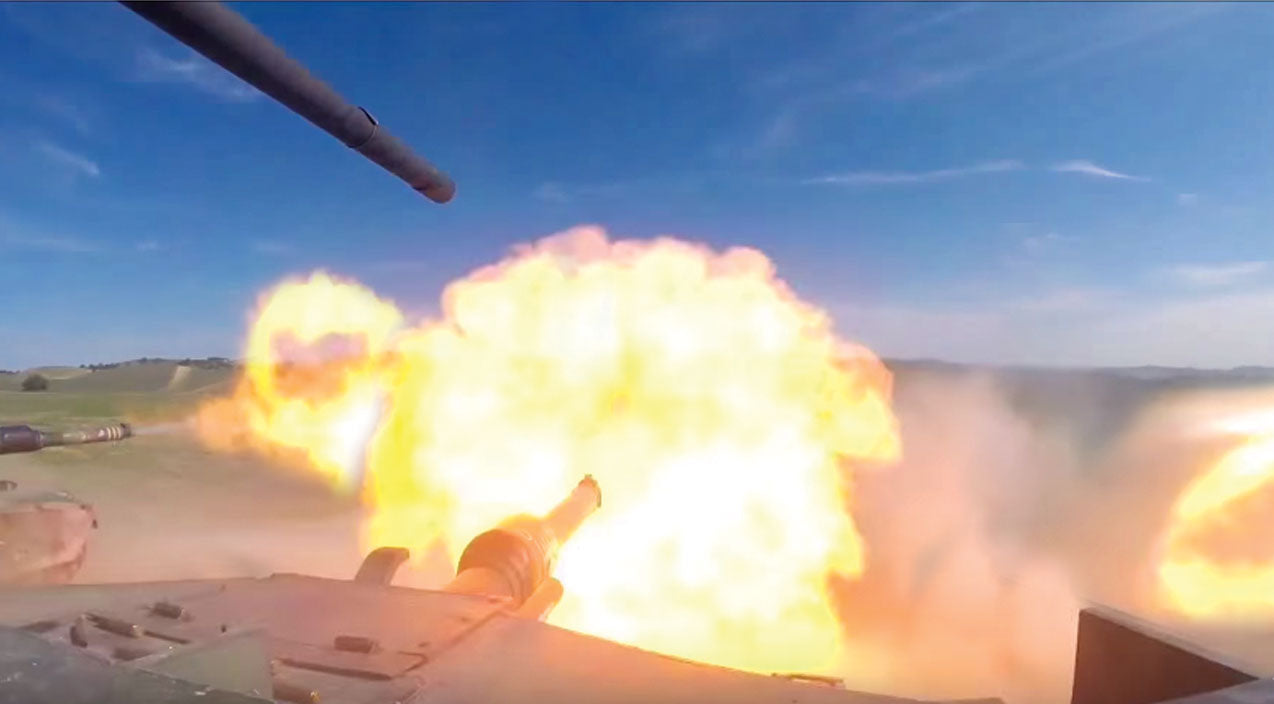 Tanks Songs | M1A1 Abrams Tanks Wreak Havoc In This Live Fire Exercise-Pure Power | Frontline Videos