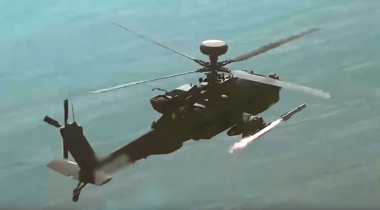 Missile Songs | Spectacular Footage Of Apache Taking Out Targets With A Brimstone | Frontline Videos