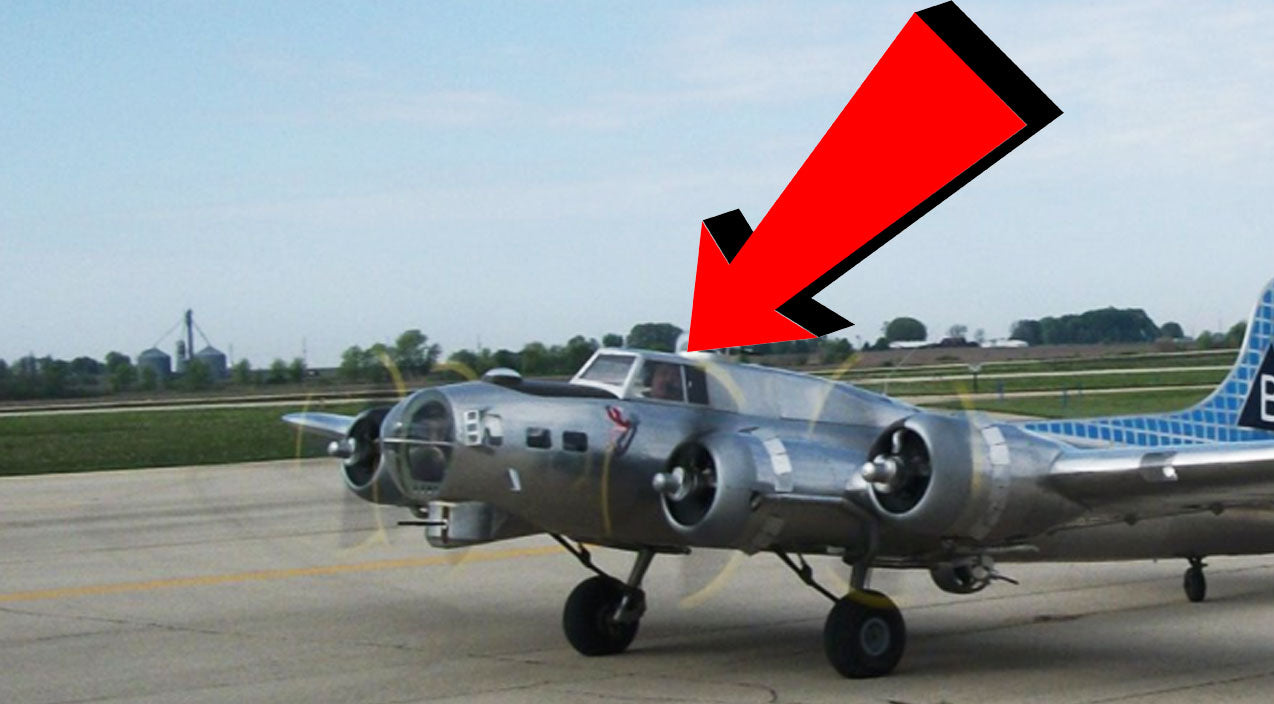 B-17 Songs | 1/3 Scale B-17 Finally Takes Off-Here's The O.K.Video | Frontline Videos