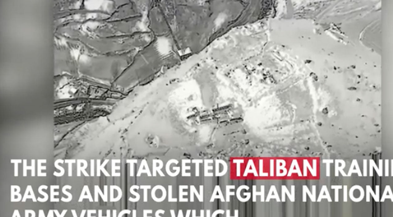 Taliban Songs   B-52s Just Dropped A Record Number Of Precision Bombs-Taliban's Shakin'   Frontline Videos