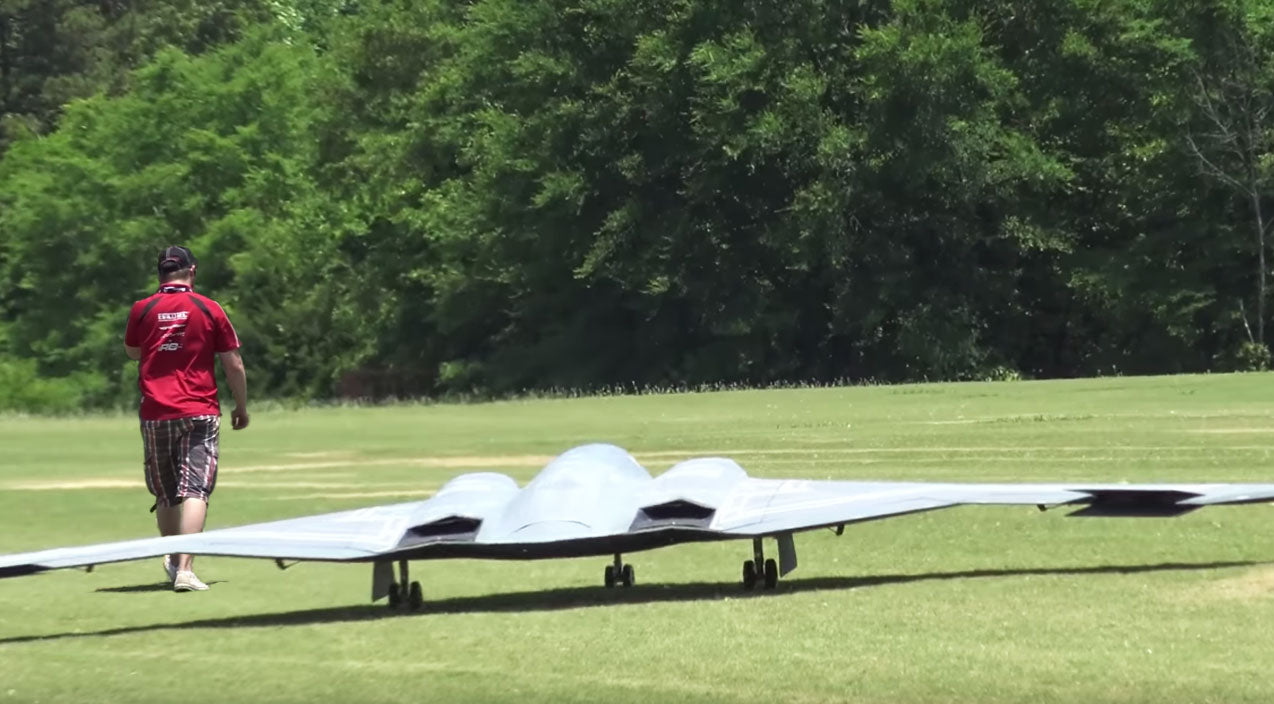 Rc planes Songs | This Is The Largest RC B-2 In The World And Its Flight Is Almost Unreal | Frontline Videos