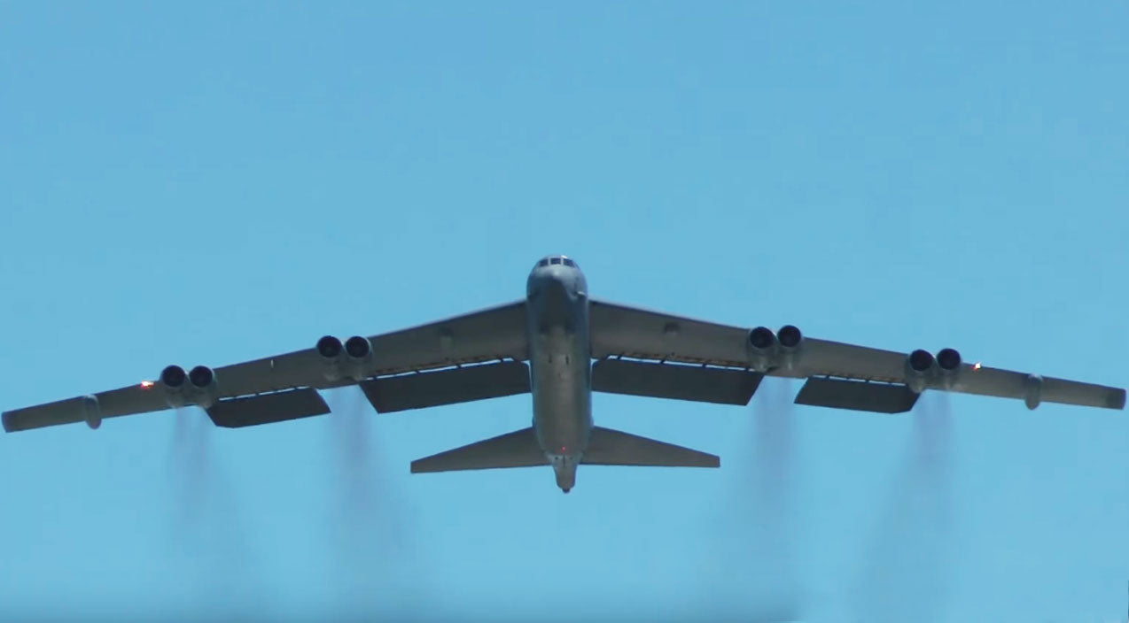 Flyby Songs | Have You Ever Seen A B-52 Waving Goodbye? | Frontline Videos