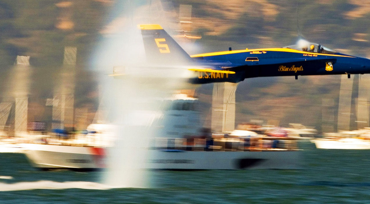 Flyby Songs | 3 Blue Angel Passes That Parted Water With Their Exhaust | Frontline Videos