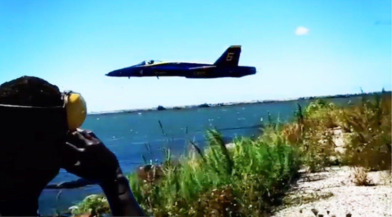 Takeoff Songs | Blue Angel #6 Performs One Of The Most Thundering Takeoffs Over Water | Frontline Videos