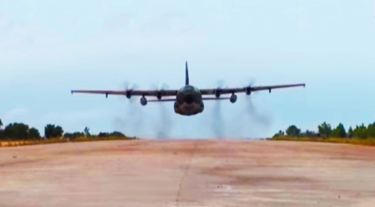Low Songs | C-130 Got CRAZY Low But The Cameraman Didn't Budge | Frontline Videos