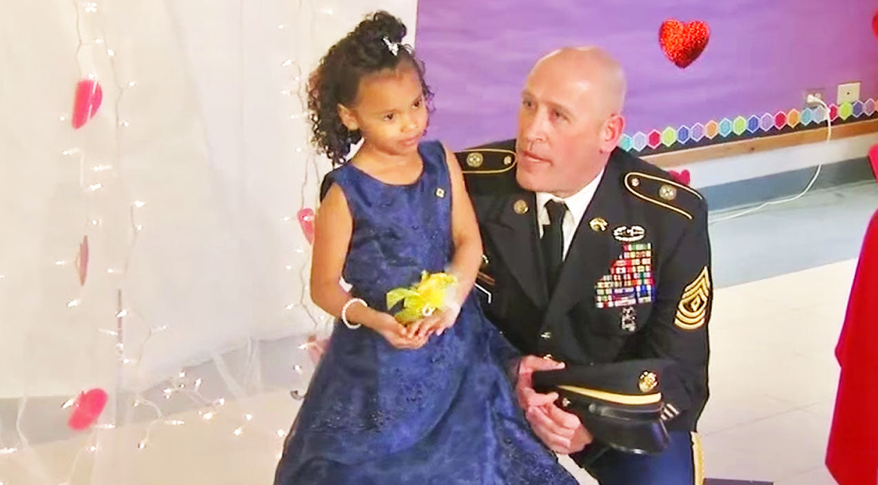 Soldiers Songs | Soldier Takes Girl To Father-Daughter Event After Her Army Dad Was Killed | Frontline Videos