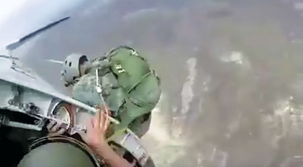 Paratrooper Songs | This Paratroopers Awful Mishap Will Make You Hold Your Breath | Frontline Videos