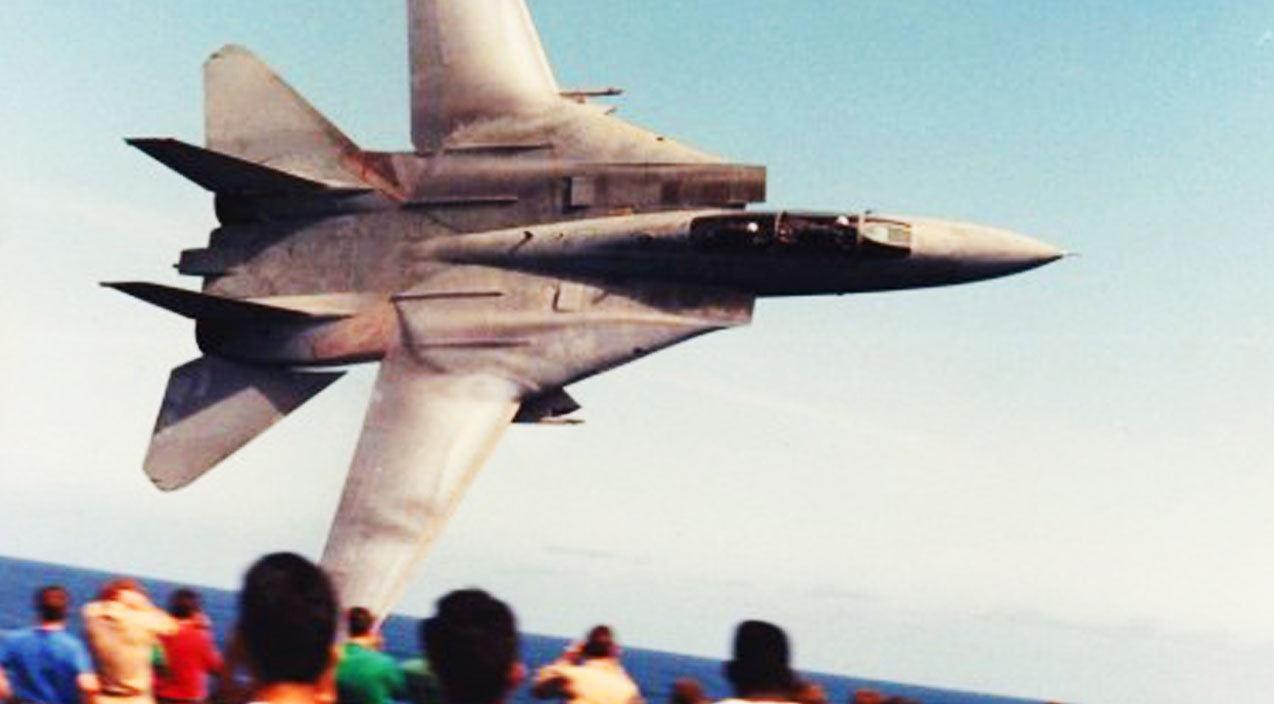 Flyby Songs | We Finally Found The Actual Video Behind This Iconic F-14 Tomcat Photo | Frontline Videos