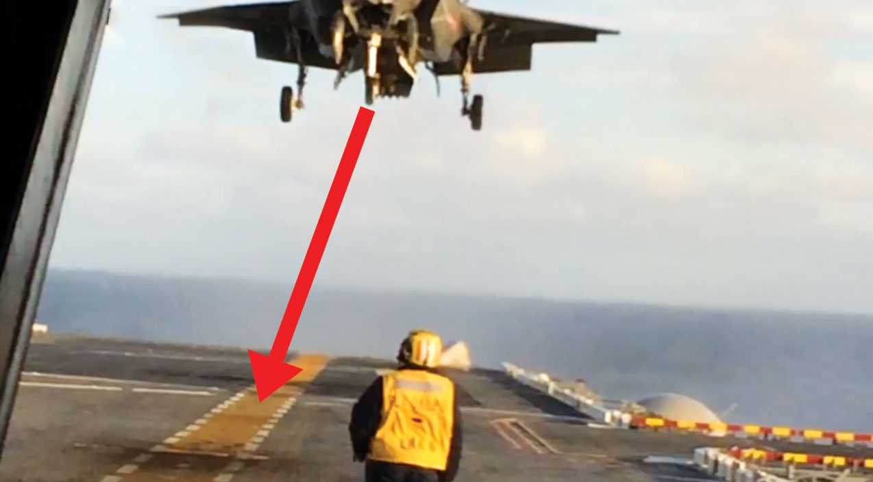 Vstol Songs | F-35 Aviator Executes The Absolute Perfect Vertical Landing In High Seas | Frontline Videos