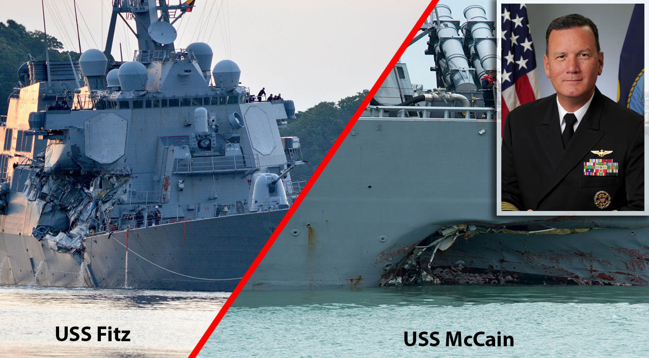 New Songs | Last Year's Two Deadly Navy Collisions Leave Five Facing Homicide | Frontline Videos