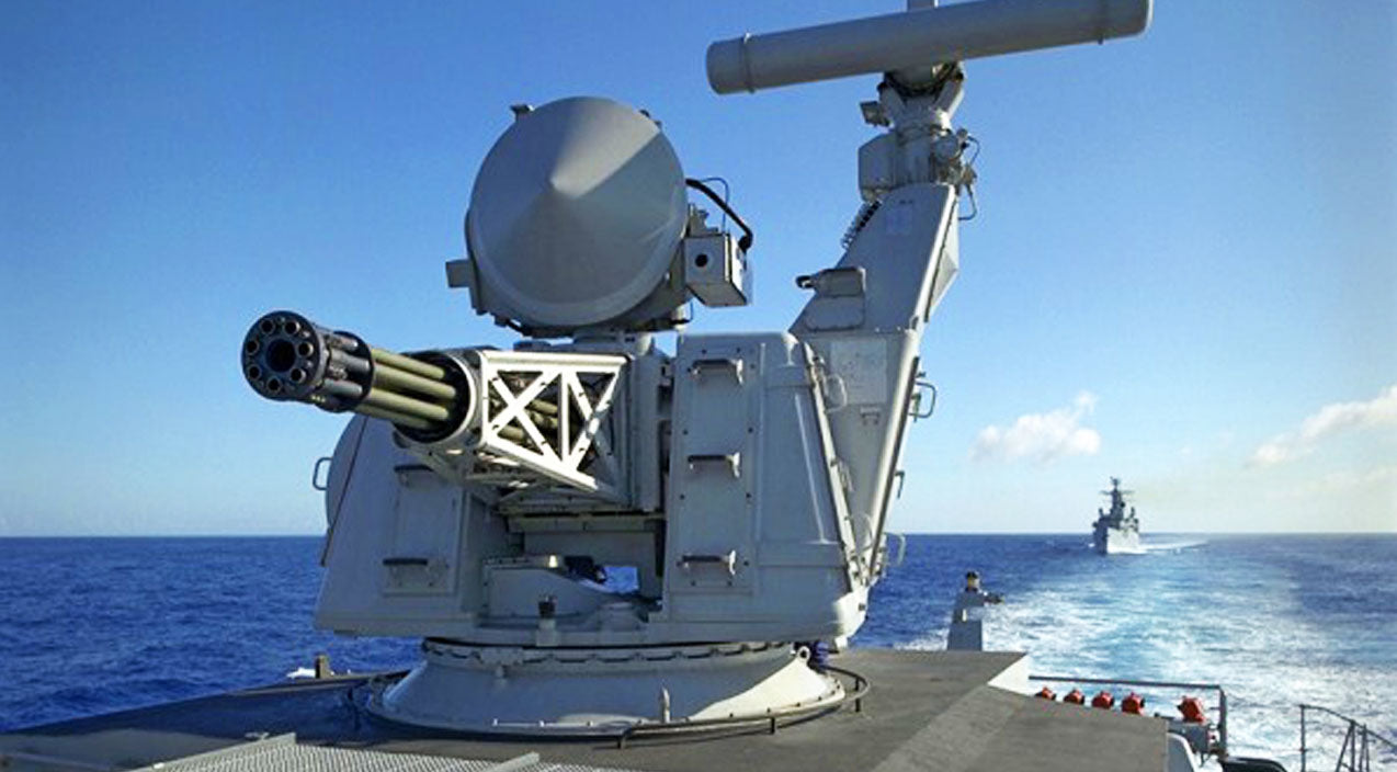 Navy Songs | Hear The Tremendous Firepower Of This Ship's GAU-8 Defense System | Frontline Videos
